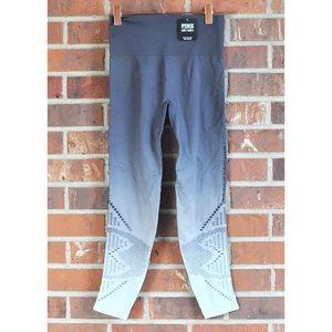NWT Victoria's Secret PINK gray ombre leggings